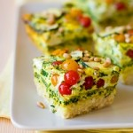 low fat broccoli and cheddar cheese quiche
